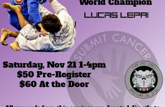 4th Annual Cancer Awareness Seminar with Lucas Lepri