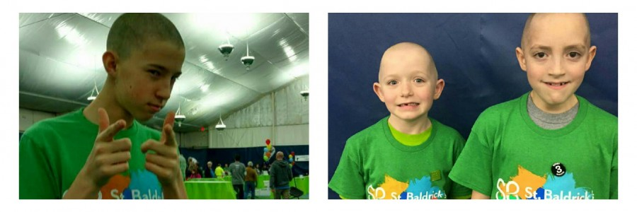 East Coast Students Shave Their Heads for Saint Balderick's