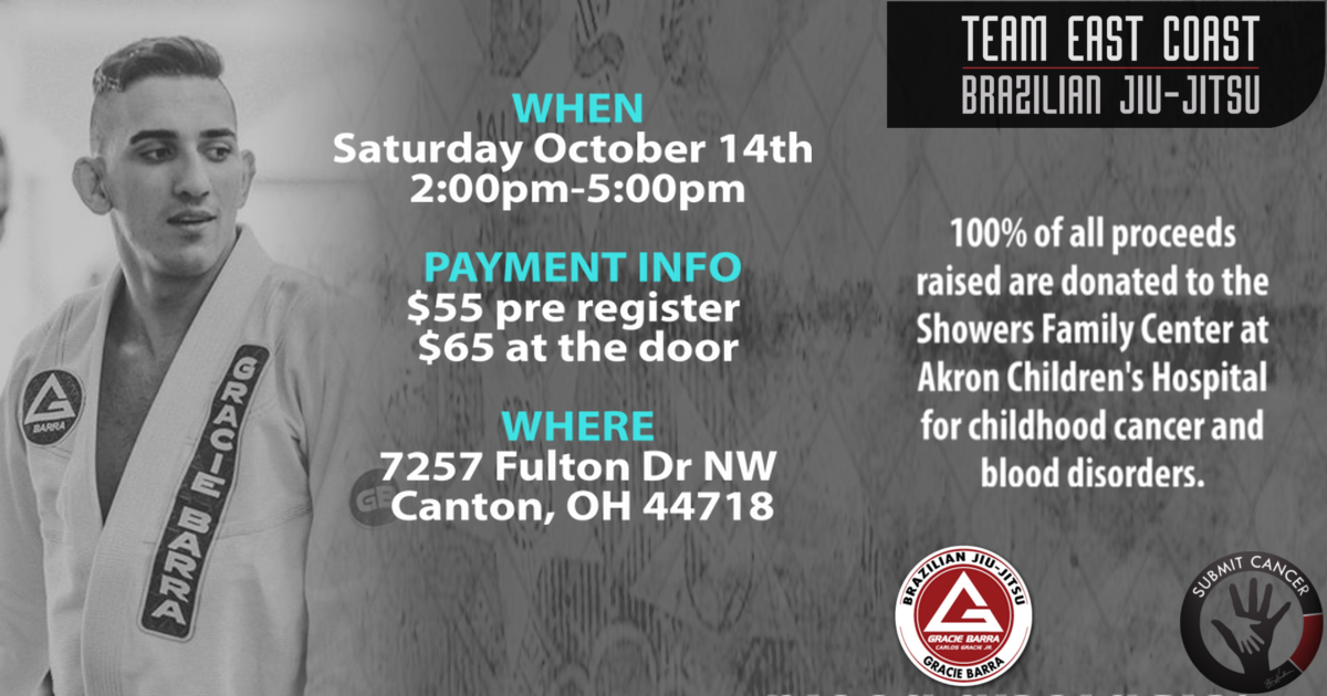 8th Annual BJJ Cancer Awareness Seminar